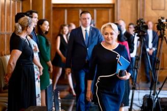 Reactii la planul lui Dancila: PNL ii spune ca nu scapa de Parlament, USR ii cere lui Iohannis sa respinga ministrii
