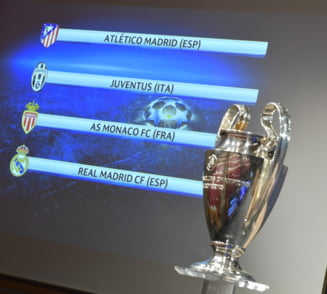 Real - Atletico si Monaco - Juventus, in semifinalele Champions League