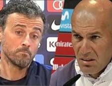 Real Madrid - FC Barcelona: Reactiile celor doi antrenori
