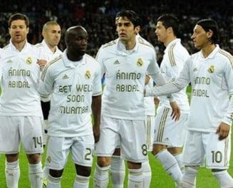 Real Madrid, fair play fata de Fabricio Muamba si Eric Abidal