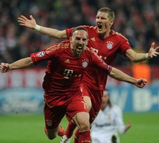 Real Madrid, invinsa de Bayern in semifinalele Champions League