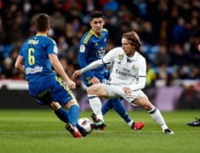 Real Madrid, invinsa pentru a doua oara in doar patru zile