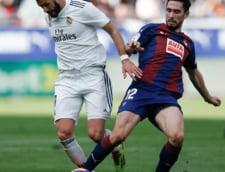 Real Madrid, umilita in Primera: Galacticii au pierdut la scor de neprezentare cu Eibar