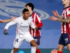 Real Madrid a castigat lejer derby-ul cu Atletico Madrid din campionatul Spaniei