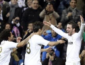 Real Madrid a facut din nou spectacol si e aproape campioana (Video)