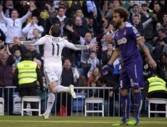 Real Madrid a facut spectacol in Primera Division: Gol fabulos marcat de Bale (Video)