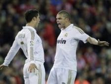 Real Madrid a facut spectacol in derbiul cu Atletico. Super goluri Ronaldo (Video)