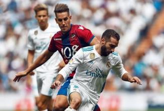 Real Madrid face inca un pas gresit in campionatul Spaniei
