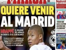 Real Madrid face transferul anului: Peste 100 de milioane de euro pentru un atacant