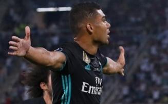 Real Madrid invinge Manchester United si castiga Supercupa Europei
