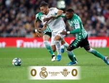 Real Madrid nu poate profita de esecul Barcelonei si nu urca pe primul loc in Spania
