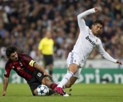 Real Madrid s-a distrat cu AC Milan, in Liga Campionilor (Video)