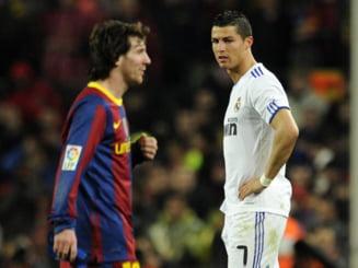 Real Madrid si Barcelona, victorii grele in Primera Division