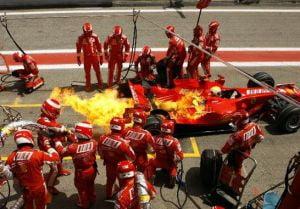 Realimentarea cu benzina, interzisa in Formula 1 din 2010