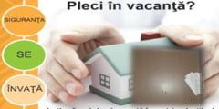Recomandari pentru protejarea locuintei in minivacanta de Pasti