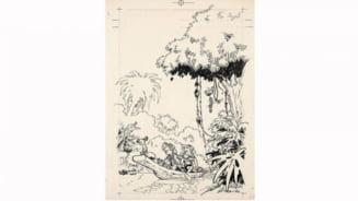 Record de licitatie pentru un desen al lui Andre Franquin