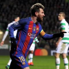 "Record impresionant pentru Messi dupa ""dubla"" din Champions League"