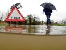 Record in Marea Britanie: Cea mai ploioasa luna din ultimii 100 de ani