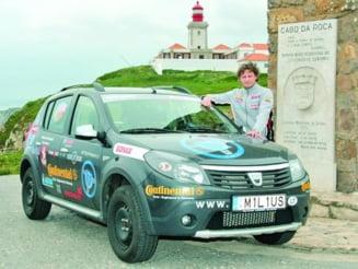 Record mondial, stabilit cu o Dacia Sandero