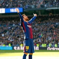 Recorduri fabuloase pentru Messi dupa ce a marcat cu Real Madrid