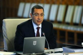 Rectificarea bugetara negativa sau pozitiva? Ce zice Ponta (Video)