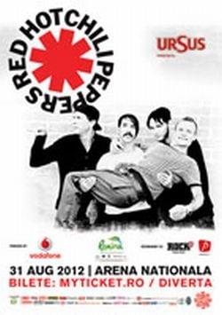 Red Hot Chili Peppers, mesaj pentru fanii din Romania (Video)