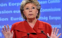 Reding: In Romania, lucrurile au evoluat intr-o directie gresita pe frontul combaterii coruptiei