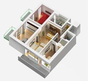 Reduceri de pana la 50% la apartamentele cu 3 camere din Capitala