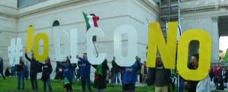 """Referendum in Italia: Ce se intampla daca italienii voteaza """"Nu"""""""