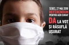 Referendum invalidat la Sebes: Ar fi putut afla daca aerul e poluat cu substante cancerigene, dar nu s-au dus la vot