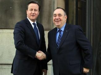 Referendum istoric pentru independenta Scotiei: Cameron a semnat intelegerea