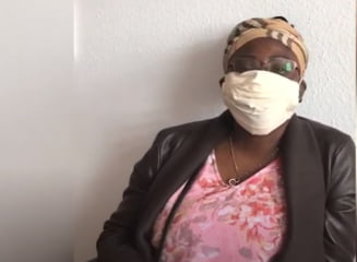 Refugiatii din centrele germane produc masti pentru ei si familiile lor (Video Deutsche Welle)
