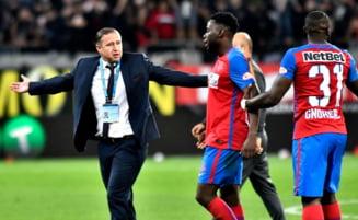 Reghecampf pregateste trei schimbari in echipa de start a FCSB dupa victoria din derbiul cu Dinamo