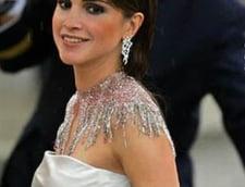 Regina Rania a Iordaniei, comparata cu sotiile dictatorilor din Egipt si Tunisia