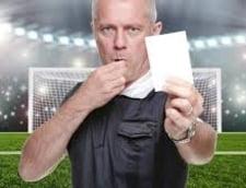Regula care schimba fotbalul: Un jucator roman a primit cartonasul alb!