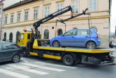 Reguli noi la ridicarile auto de pe domeniul public