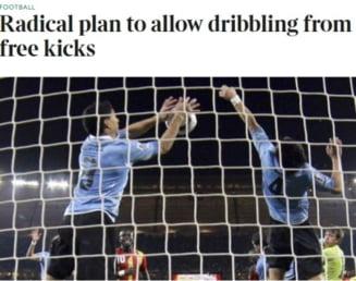 Regulile fotbalului se schimba: 5 modificari radicale pregatite de FIFA