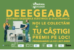 Reincepe Romania Recicleaza, campania care incurajeaza romanii sa recicleze echipamentele vechi