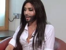 Reincepe scandalul Eurovision - Un transsexual, sosia barboasa a lui Kim Kardashian, concureaza pentru Austria (Video)