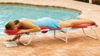 Relaxeaza-te in sezlongul de masaj