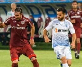 Remiza fara goluri in derby-ul CFR Cluj - CSU Craiova. Oltenii, la cativa centimetri de victorie, pe final de meci