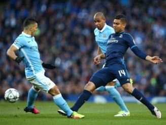 Remiza spectaculoasa intre Manchester City si Real Madrid in semifinalele Champions League