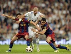 Remiza tensionata intre Real Madrid si Barcelona