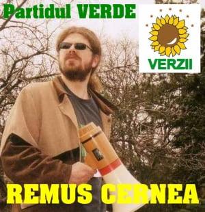 Remus Cernea ii trage in teapa pe Basescu, Geoana si Antonescu