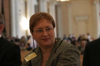 Renate Weber: Este schizofrenic sa ai in fruntea CSM un procuror!