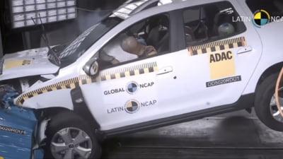 Renault Duster, produs în Brazilia, a obținut zero stele la testele de siguranță Latin NCAP VIDEO