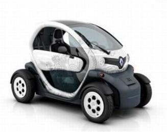 Renault Twizy, cea mai ieftina masina electrica, poate fi comandata online