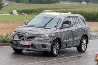 Renault va lansa un nou SUV: Primele detalii si foto-spion