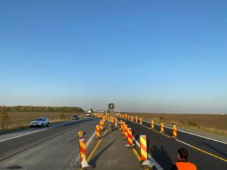 Reparații pe A2, începând de miercuri. Restricții de circulație din cauza lucrărilor