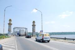 Reparatii capitale la Podul Olt